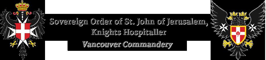Order of St. John, Vancouver Commandery